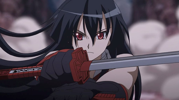 Akame in Akame ga Kill! anime