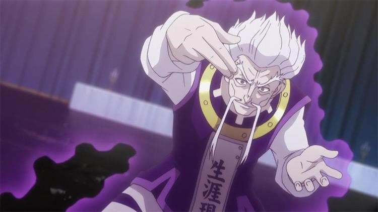 Zeno Zoldyck HxH anime screenshot