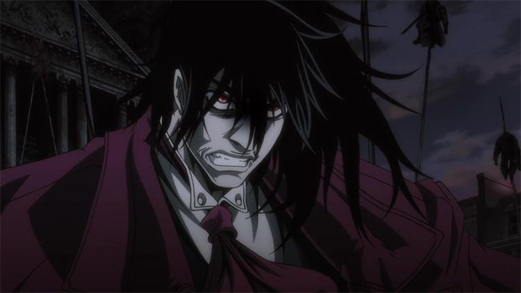 Alucard in Hellsing Ultimate anime