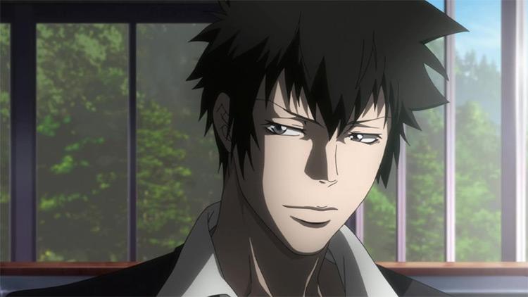 Shinya Kougami in Psycho-Pass anime