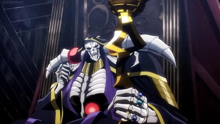 Momonga from Overlord anime