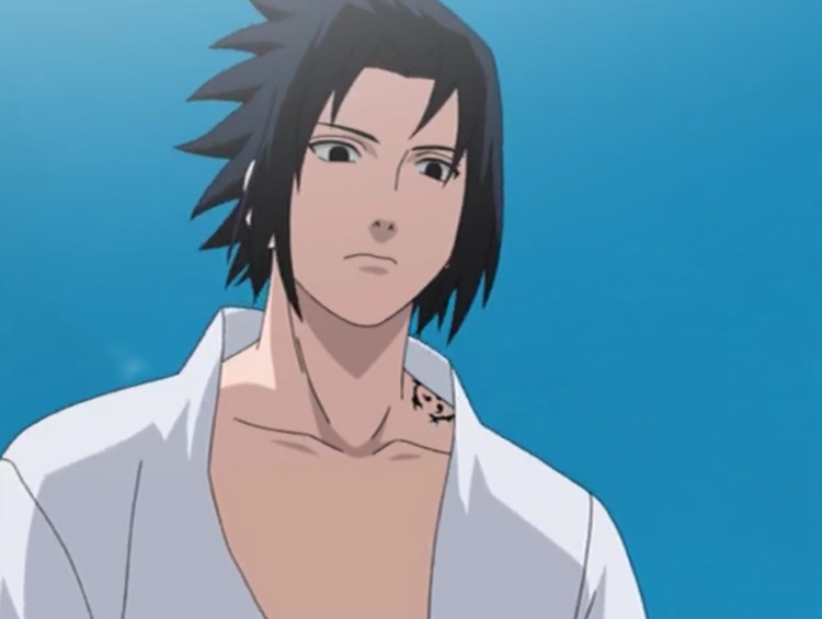 Sasuke Uchiha from Naruto: Shippuden anime