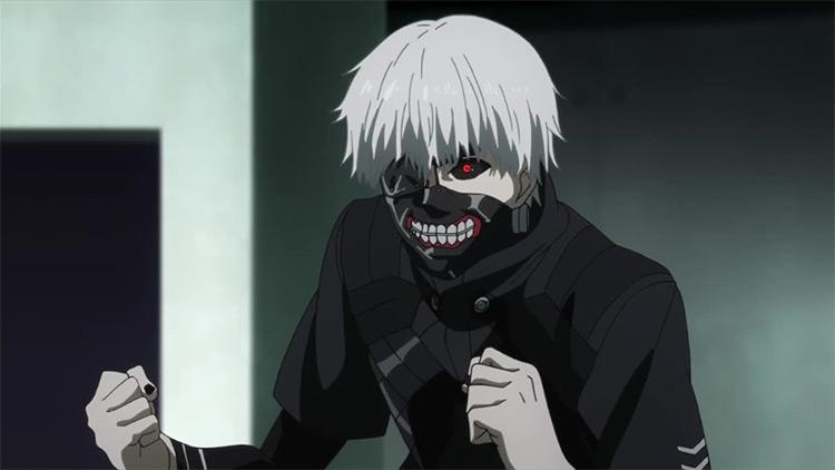 Ken Kaneki in Tokyo Ghoul