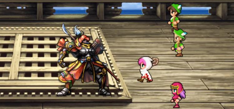 FF5 Mobile / Battle with Gilgamesh