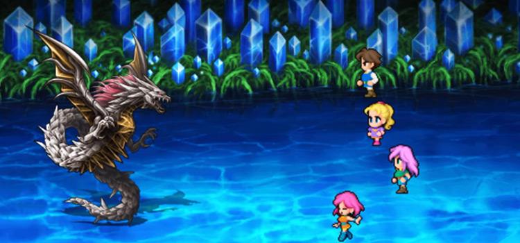 FF5 Shinryu Boss Battle