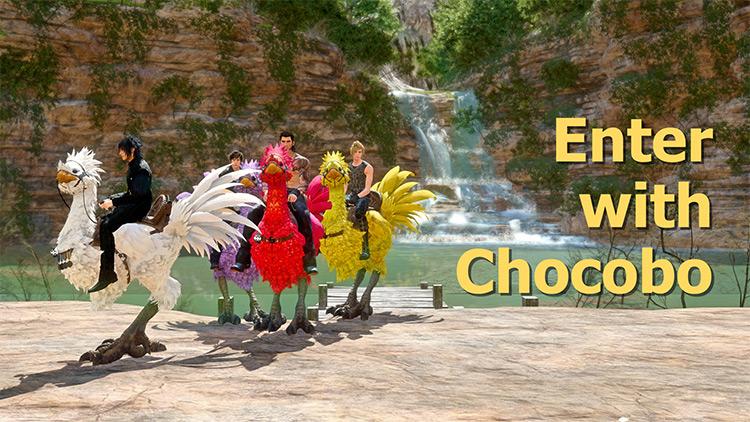 Enter With Chocobo Mod screenshot