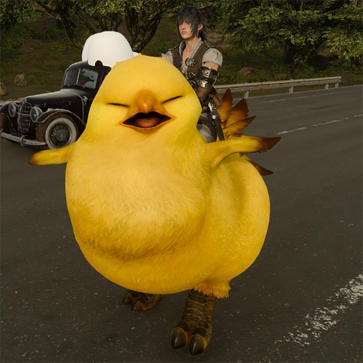 Fat Chocobo FFXV Mod