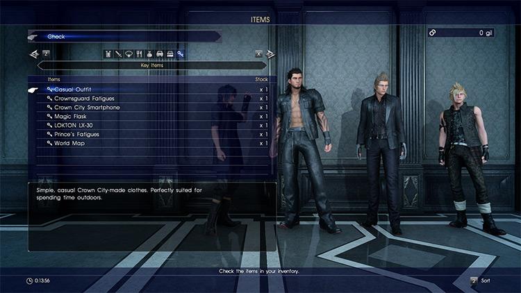 No DLC Mod FF15 Screenshot