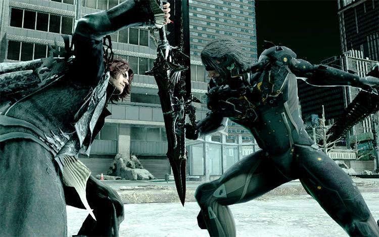 Raiden Outfit Mod Final Fantasy XV