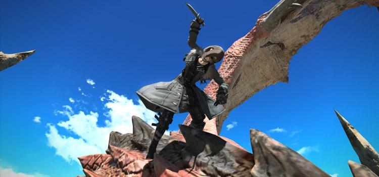 Rathalos Battle Screenshot from FFXIV