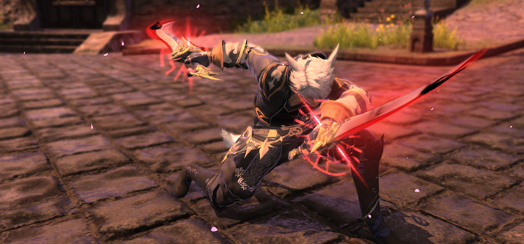 Glowing Relic Weapons in FFXIV