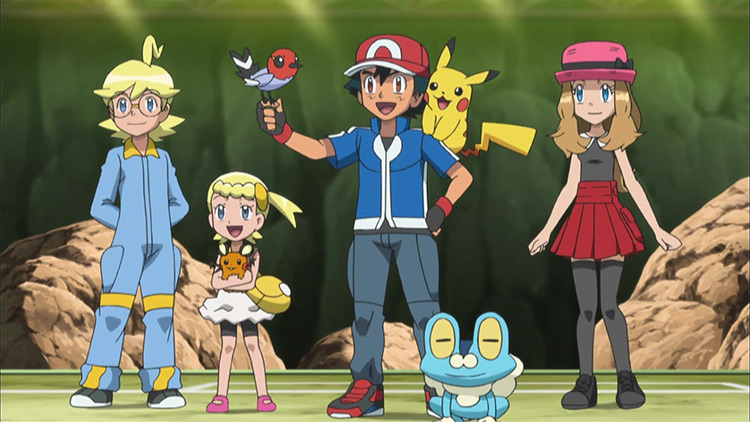 Pokémon anime screenshot