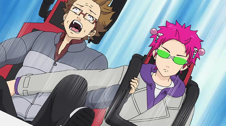 The Disastrous Life of Saiki K. anime