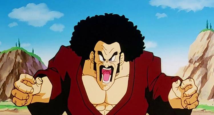 Hercule Satan from Dragon Ball Z anime