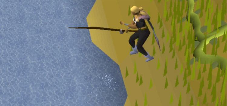 Barbarian Fishing Rod Screenshot from OSRS