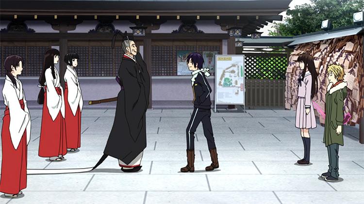 Noragami anime screenshot