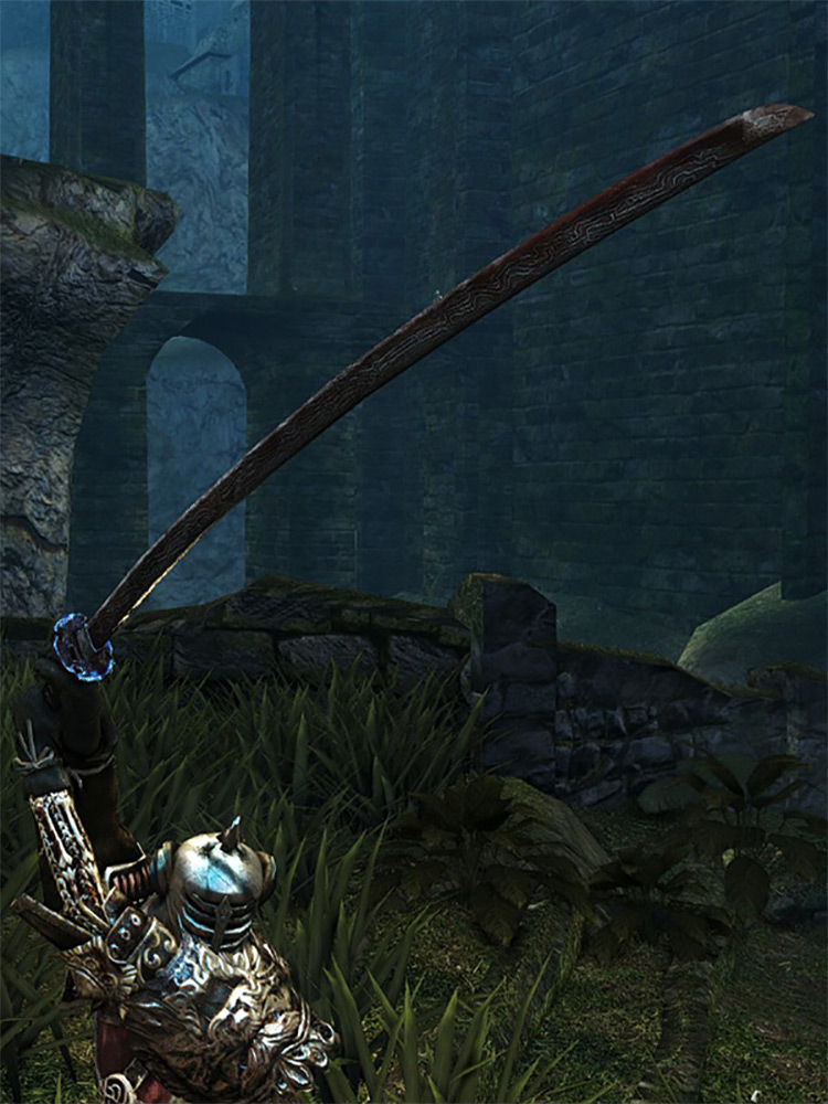 Chaos Blade from Dark Souls Remastered