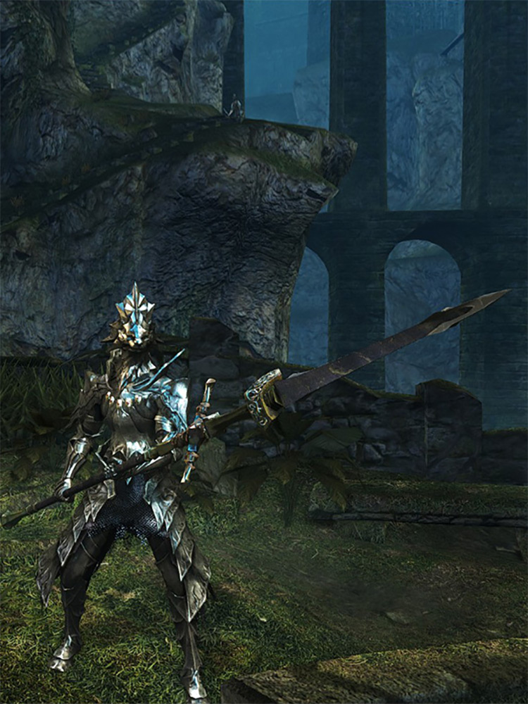 Dragonslayer Spear in DS1 Remastered