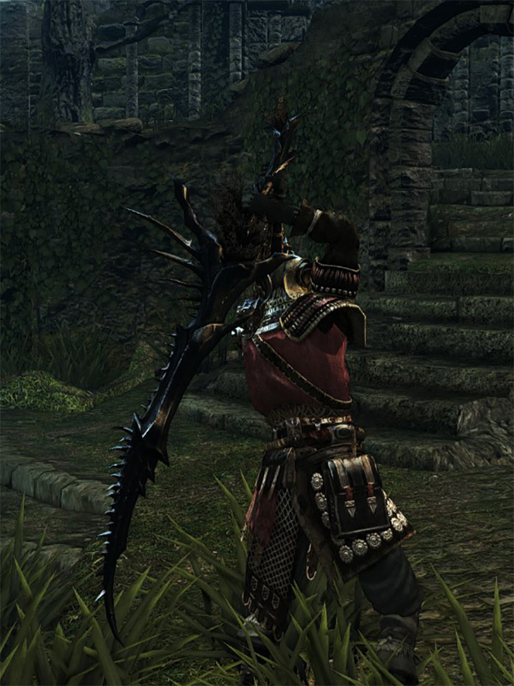 Quelaag's Furysword Dark Souls Remastered