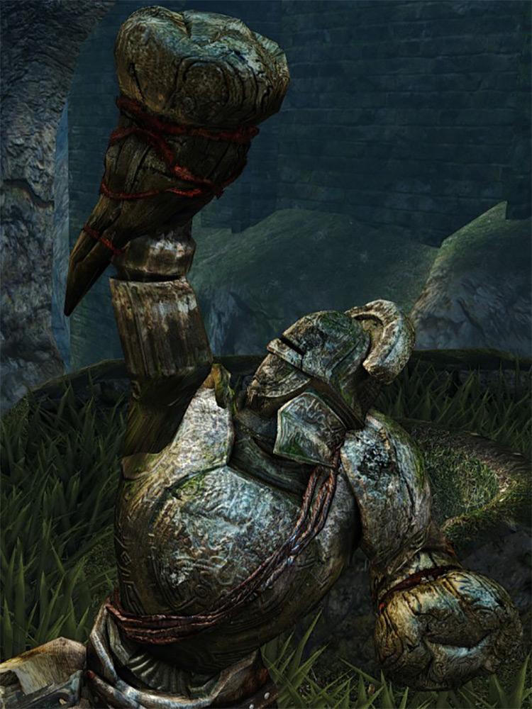 Dragon Bone Fist from Dark Souls Remastered