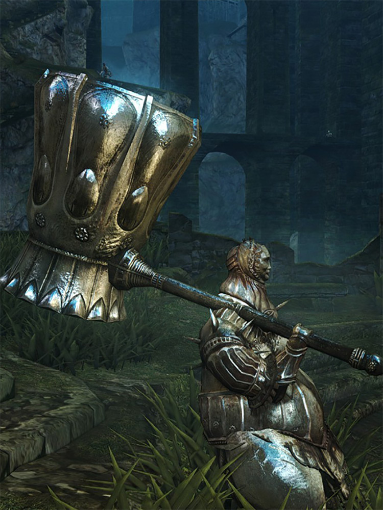 Smough's Hammer in DS1 Remastered