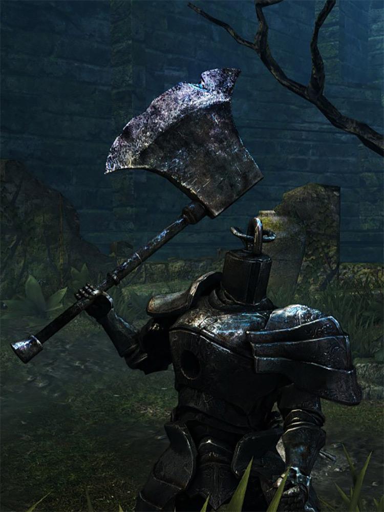 Golem Axe from Dark Souls Remastered