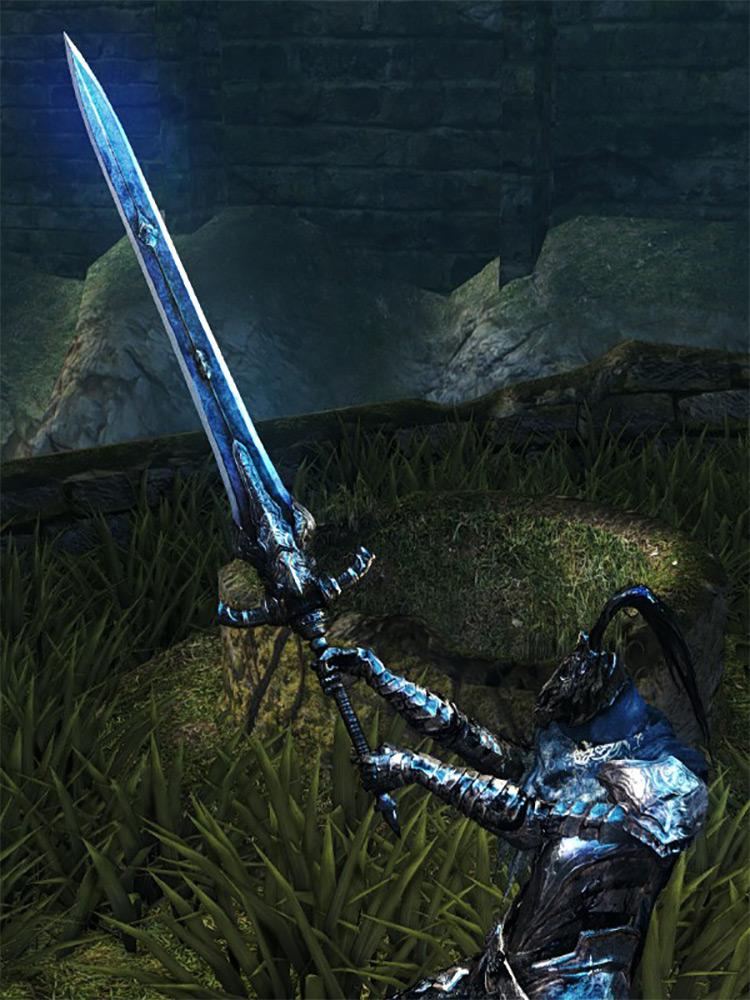 Greatsword of Artorias Dark Souls Remastered