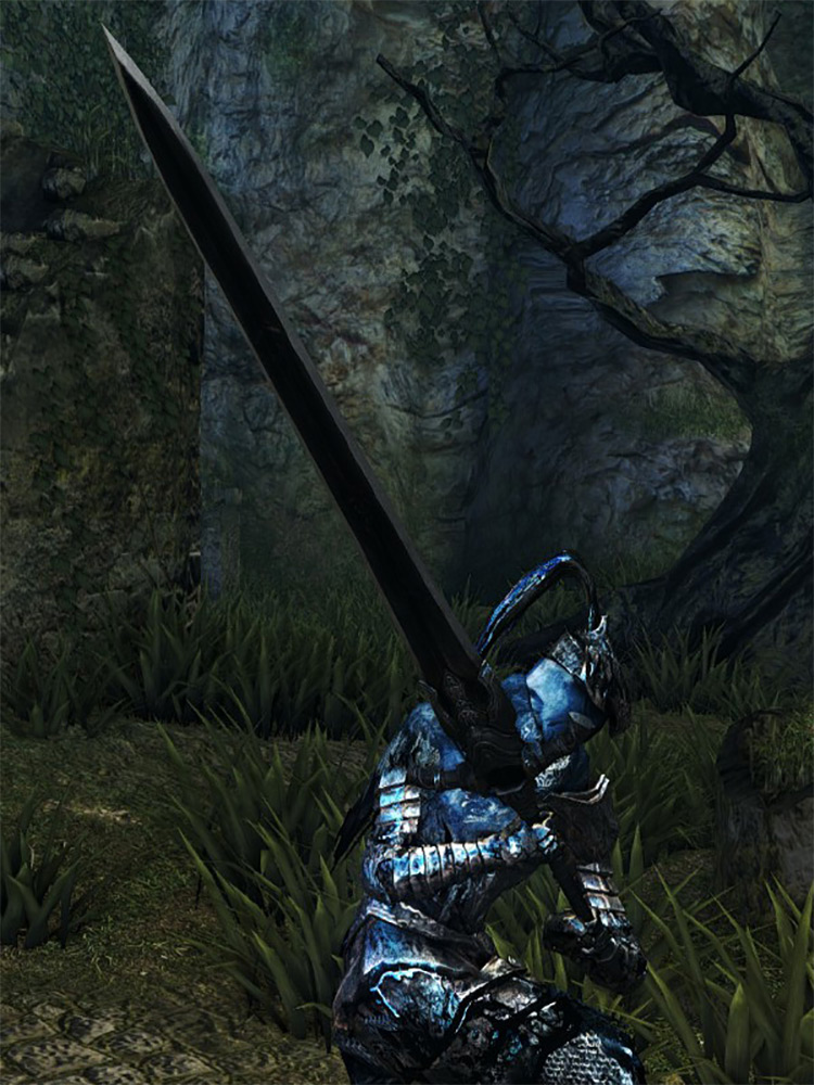 Greatsword of Artorias (Cursed) in DS1 Remastered