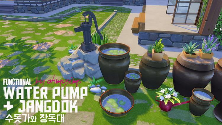 Functional Water Pump & Jangdoks TS4 CC