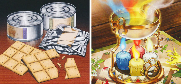 Emergency Rations and Aroma Jar YGO