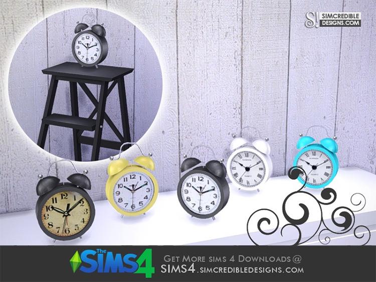 Young Way Table Clock TS4 CC