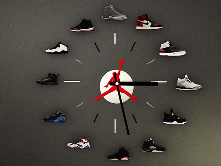 Jordan Clock Sims 4 CC
