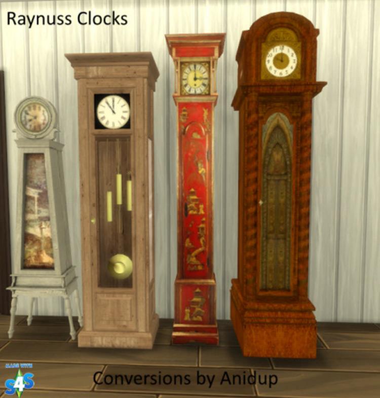 Raynuss Clocks for Sims 4