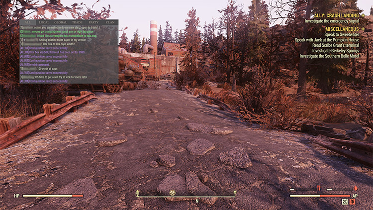 Text Chat Mod for Fallout 76