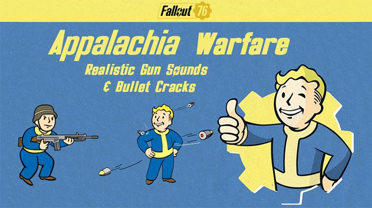 Appalachia Warfare Mod for Fallout 76