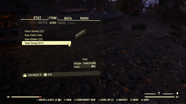Better Inventory Fallout 76 Mod