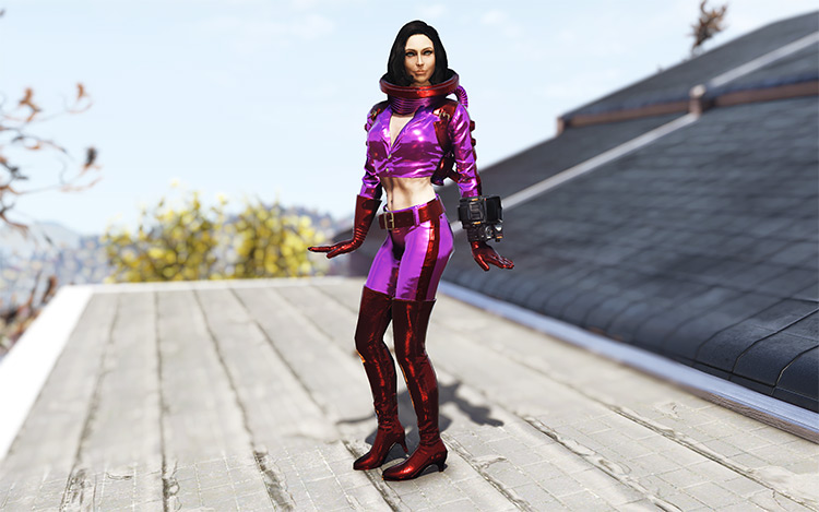 Nuka-Girl Spacesuit Revamp Mod for Fallout 76
