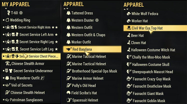 Icon Sorting Tags Mod for Fallout 76
