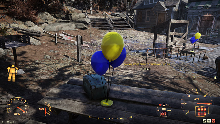 So Many Balloons Fallout 76 Mod