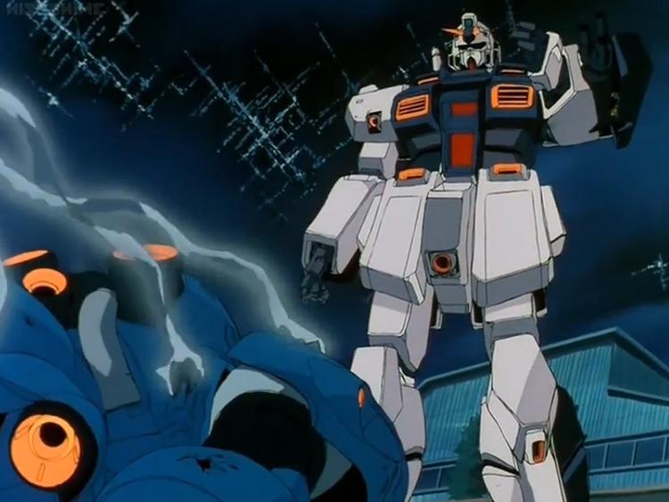 Mobile Suit Gundam 0080: War in the Pocket anime
