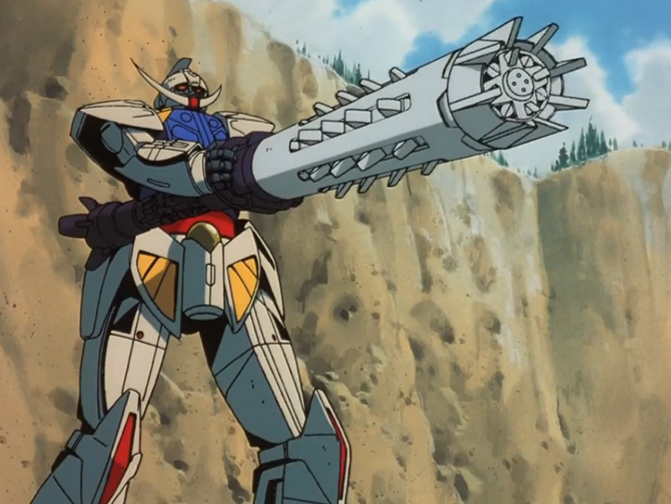 Turn A Gundam anime screenshot