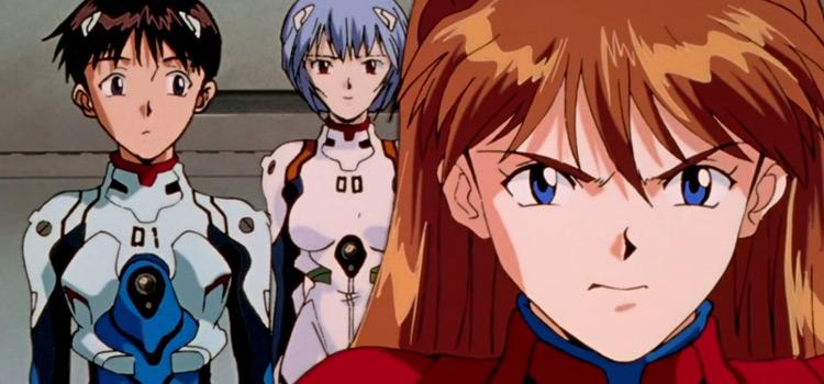 Screenshot of Neon Genesis Evangelion