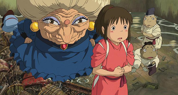 Spirited Away anime screenshot