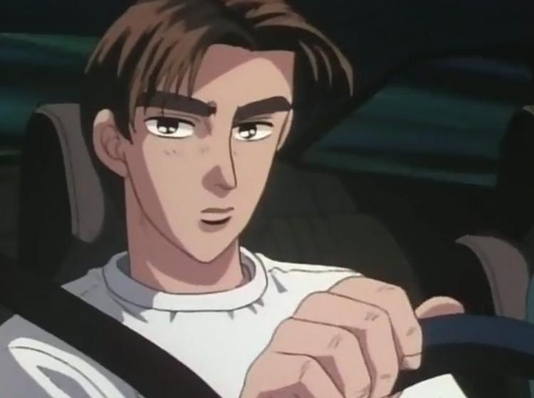 Initial D anime screenshot