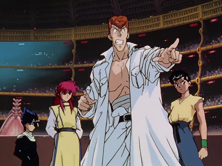Yu Yu Hakusho anime screenshot
