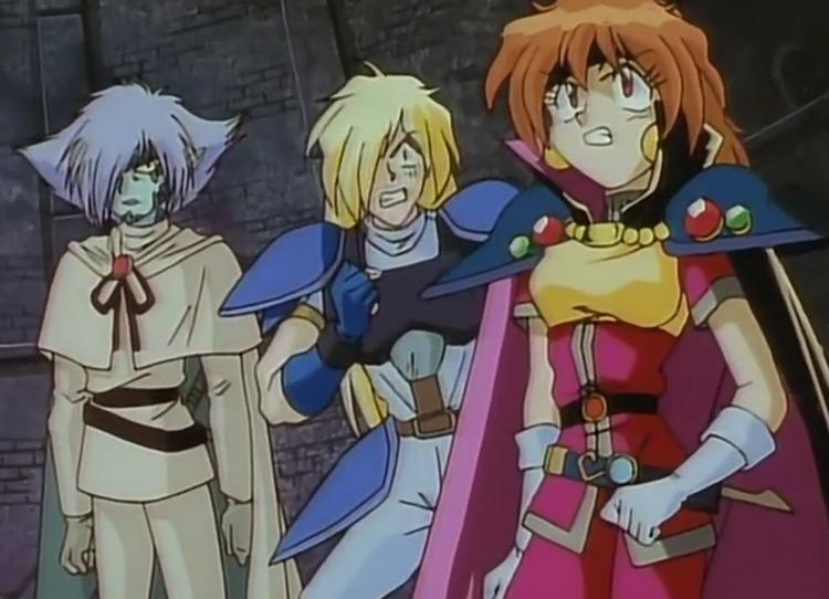 Slayers (1995) anime screenshot
