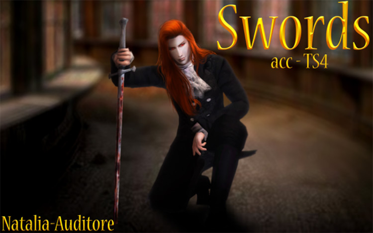 Sword Master CC for Sims 4