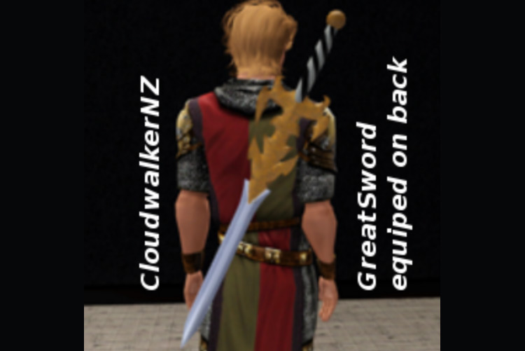 Great Sword CC for Sims 4