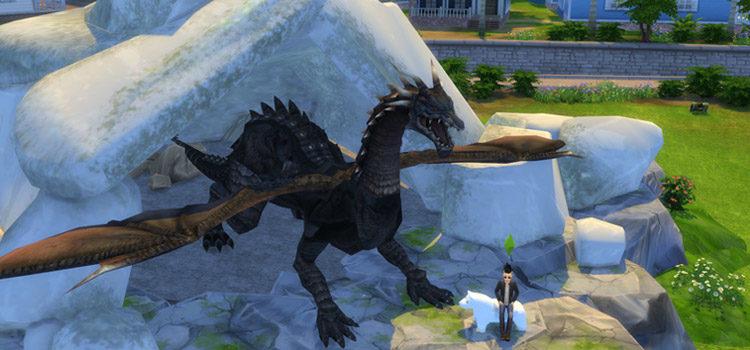 Sims 4 Dragon CC: Wings, Horns, Tattoos & More