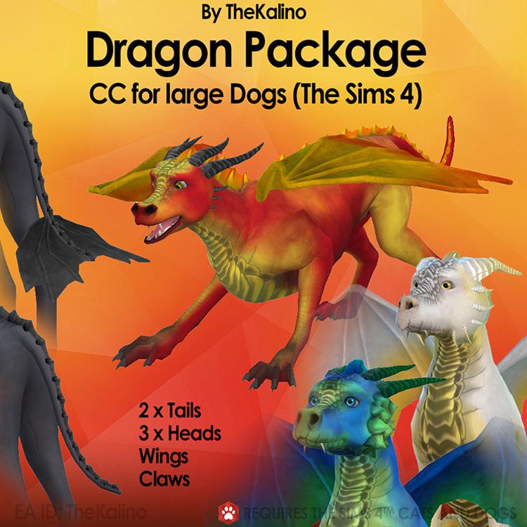 Dragon Package Sims 4 CC